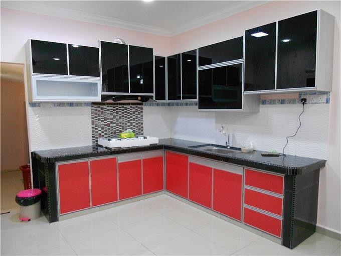 Desain Kabinet Dapur Aluminium Aluminium Kitchen Cabinet Design Malaysia Set Stainless Steel Double Bowl 3rd On Invaber Top 10