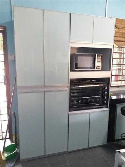 Kabinet Dapur Aluminium On Invaber Aluminium Kitchen Cabinet Design Malaysia Set Stainless Steel Double Bowl Proses Reka Bentuk Hiasan Dalaman Aluminium Base Kabinet Bawah L Shape Dapur Aluminium Rack Pinggan Sink Idea
