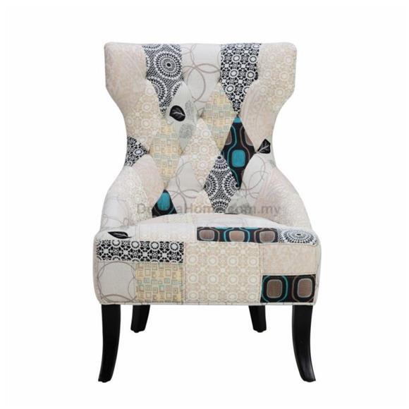 Arm Chair - Every Fabric Piece Handmade Sewed