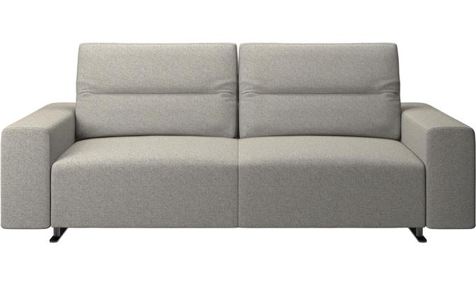 Sofa With Adjustable Back - Seater Sofa Has Wider Seats