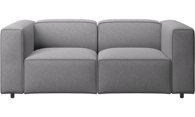 Fit Small Living - Modern Carmo Sofa Real Show-stopper