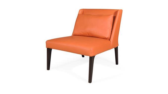 Arm Chair - Hugo Calvin Full Leather Arm