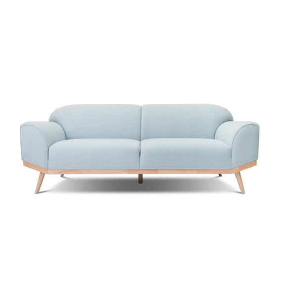 Blue Fabric - Volte Couch Scandinavian Design Collection