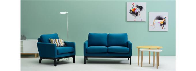 Double Seater Sofa - High Density Cushioning Indulgent Comfort