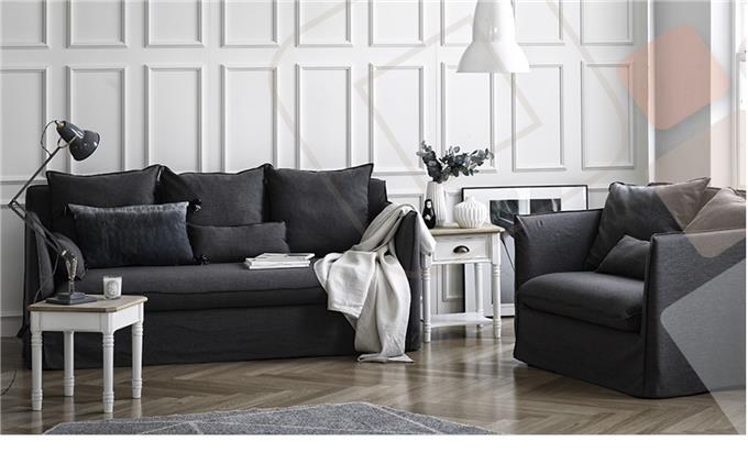 Charcoal Grey - Seater Sofa