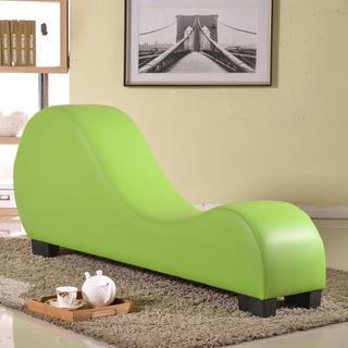 Leather Yoga Chair