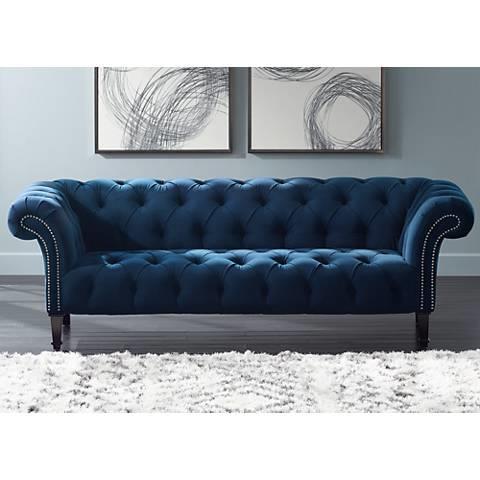 Blue Fabric - Sapphire Blue
