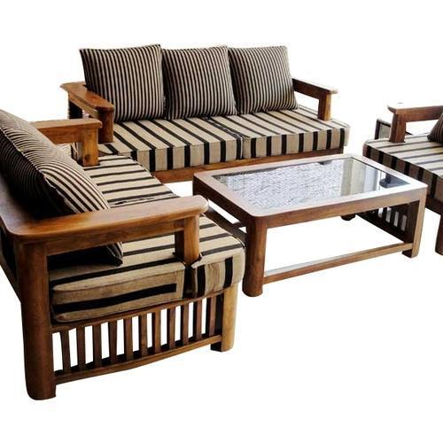 Wooden Sofa Set - Quality Raw Materials