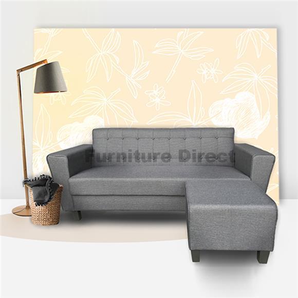 L Shaped Sofa - Seater Fabric L Shaped Sofa