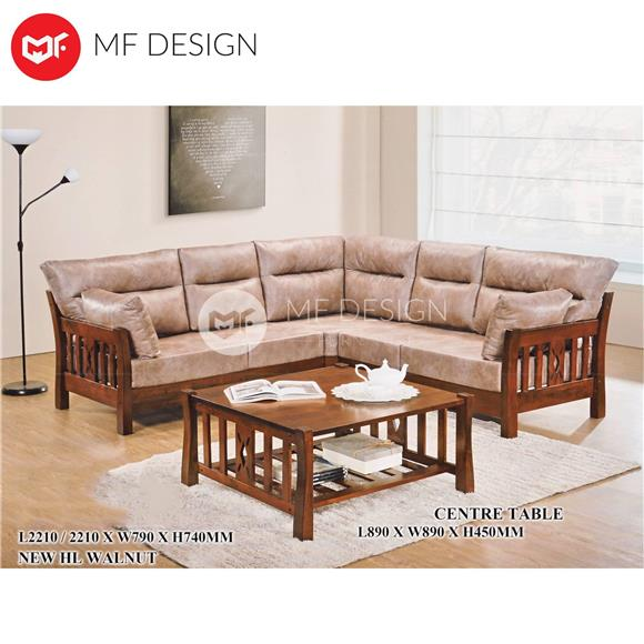 Coffee Table With Quality Score Wooden Sofa Made From Solid Full