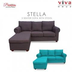 High Quality Linen Look Cotton - Seat System High Density Padded