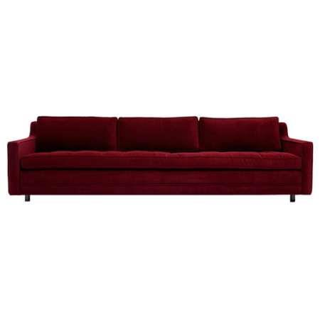 Seater Sofa Features - The Right Amount Modern Detail