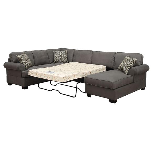 Gives Contemporary - Sectional Big Without Making Dent