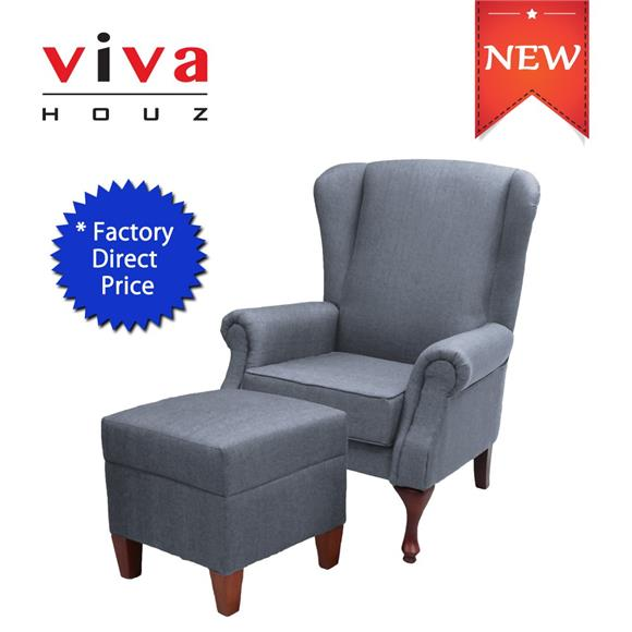Asda Wing Chair - Choose Traditional Forms Compose Seating