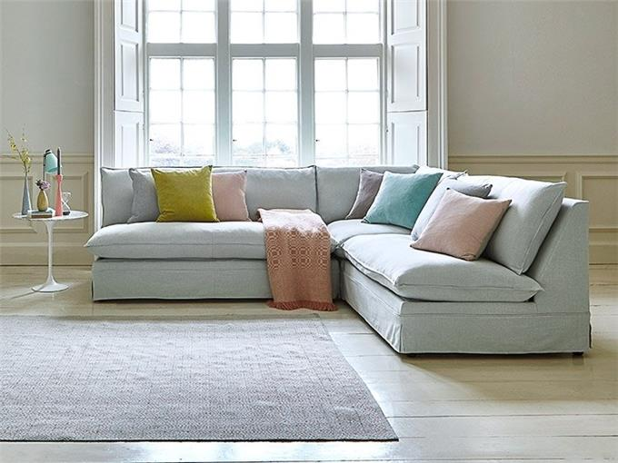 Shaped Sofa Bed - Cosy Feather-wrapped Foam Seat Cushions