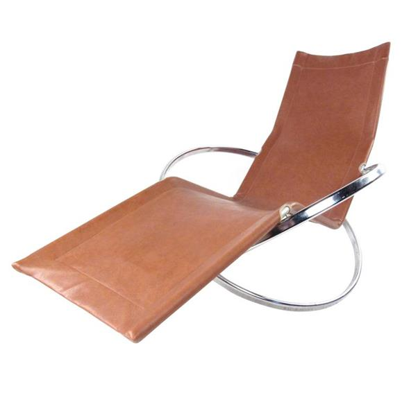 Vintage Lounge Chair - Chaise Lounge Chair