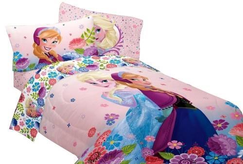 Beautiful Flower - Disney Frozen Comforter Set Girls