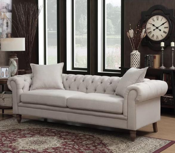 Soft Linen on Invaber - Beautiful Sofa Provide Plenty