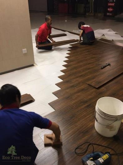 Eco Tree Deco Malaysia - Value Interlocking Vinyl Floor Tiles