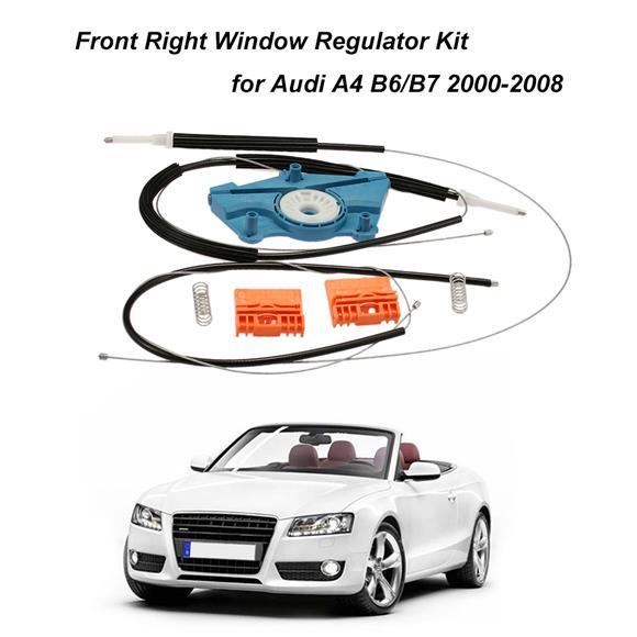Audi A4 B6 B7 OSF Front Right Electric Window Regulator Repair Kit 2000– 2008