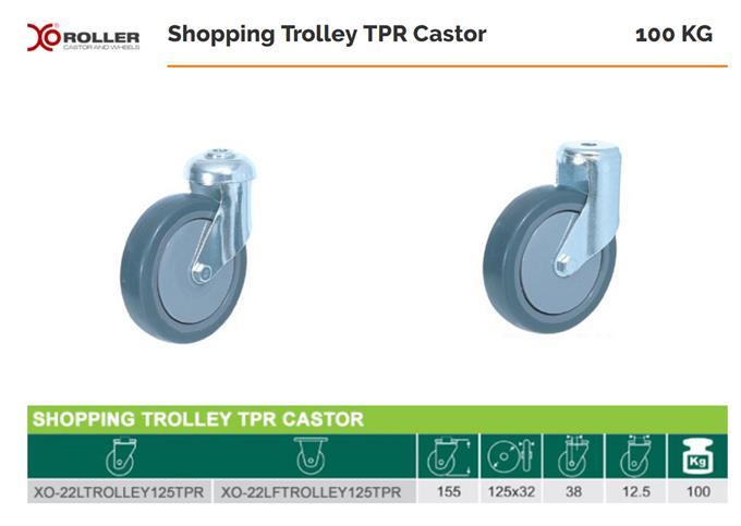 Heavy Duty Castors - Pedal Off Mechanism Ensures Trouble-free