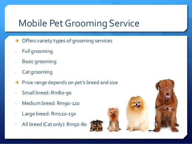 Pet Grooming Service On Invaber Yin Mobile Pets Grooming Service