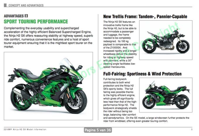 Ninja H2 Sx Features Innovative Kawasaki Ninja H2 Sx Led Daytime