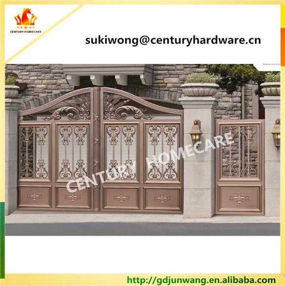 Iron Gate On Invaber Main Gate Designs In Residential Automatic