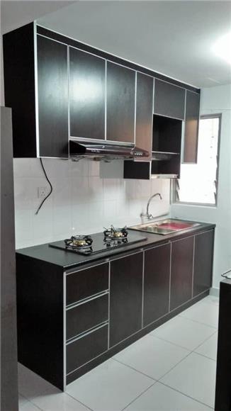 Promosi Akhir Tahun Kabinet Dapur Aluminium Ada Jalan Penyelesaian Harga Betul Betul Murah Set Kabinet Dapur Proses Reka Bentuk Hiasan Dalaman Kehendak Tuan Beserta Rekabentuk 3d Kitchen Cabinet Body Carcass Ingin