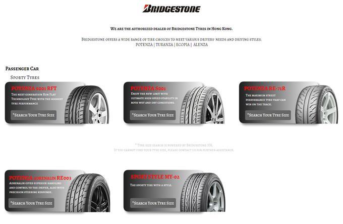 Bridgestone Offers Wide Range - Latest Technology Reducing
